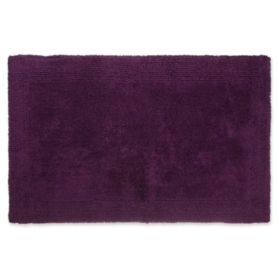 Wamsutta Ultra Fine Reversible 17 X 24 Bath Rug In Deep Purple
