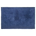 "Wamsutta® Ultra Fine Reversible 17"" x 24"" Bath Rug in Denim Blue"