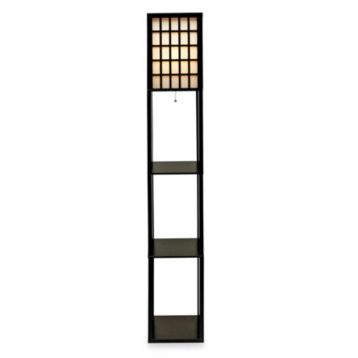 Adesso® Middleton Shelf Floor Lamp