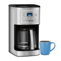 Cuisinart® 14-Cup Programmable Coffee Maker with Hotter Coffee Option