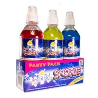 Snowie™ 3-Pack Party Flavored Snow Cone Syrup