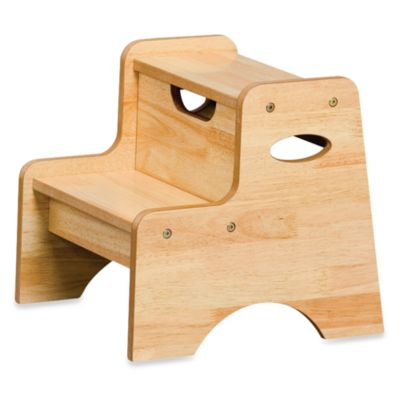 KidKraft® Two Step Stool in Natural  sc 1 st  Bed Bath u0026 Beyond & Buy Two Step Stool for Kids from Bed Bath u0026 Beyond islam-shia.org