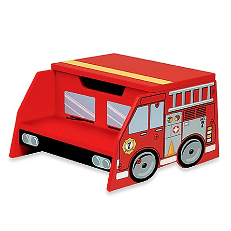 Kidkraft 174 Firetruck Step N Store Bed Bath Amp Beyond