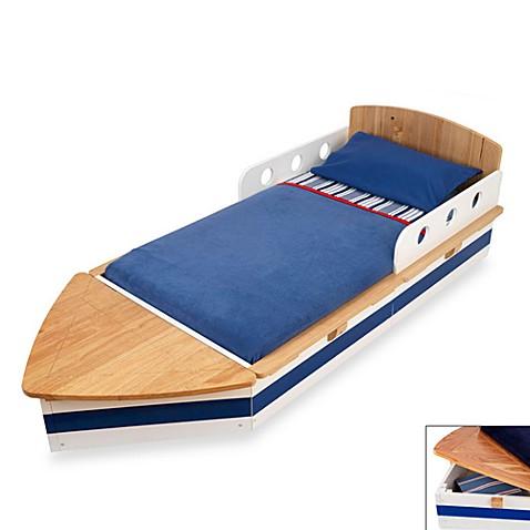 KidKraft® Boat Toddler Bed - buybuy BABY