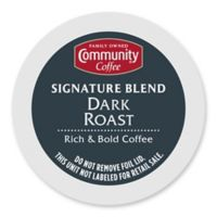 80-Count Community Coffee® Signature Blend Coffee for Single Serve Coffee Makers