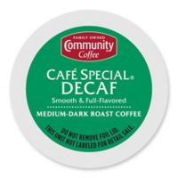 36-Count Community Coffee® Café Special Decaf for Single Serve Coffee Makers