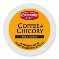 36-Count Community Coffee® Coffee and Chicory for Single Serve Coffee Makers