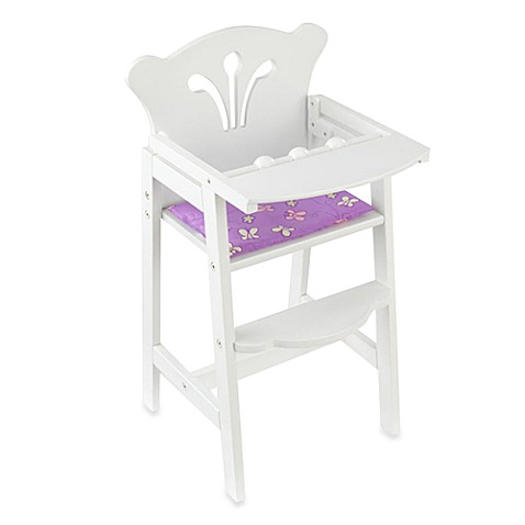 Kidkraft 174 Lil Doll High Chair Buybuy Baby