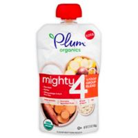 Plum Organics® Tots Mighty 4® Sweet Potato Banana Passion Fruit Blend 4 oz. Baby Food