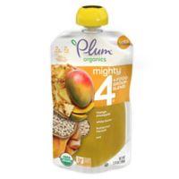 Plum Organics™ Mighty 4® 3.75 oz. Mango, Pineapple, White Bean, Squash, Oat Pouch