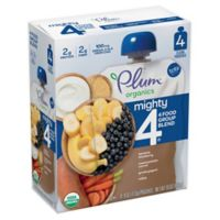 Plum Organics® Tots Mighty 4® 4-Pack Sweet Potato Blueberry 4 oz. Baby Food
