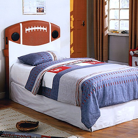 Football Twin Headboard With Built In Speakers