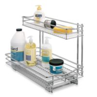 Lynk Professional 11.5-Inch x 21-Inch Roll-Out Double Under-Sink Basket Drawer