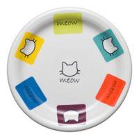 Fiesta® Meow Cat Appetizer Plate in White