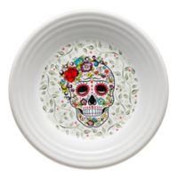 Fiesta® Halloween Sugar Skull Luncheon Plate in White