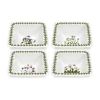 Portmeirion® Mini Square Multicolor Bowls (Set of 4)