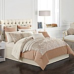 Aurora 14-Piece King Comforter Set in Blush