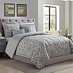 Camden Medallion 5-Piece Reversible Full/Queen Comforter Set in Sage