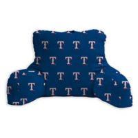 MLB Texas Rangers Backrest Pillow