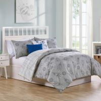 VCNY Home Blast Off Reversible Twin Comforter Set