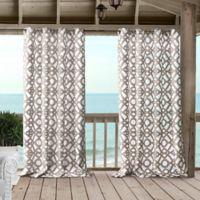 Marin 95-Inch Grommet Indoor/Outdoor Window Curtain Panel in Natural