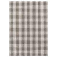 Erin Gates Marlborough Hand Woven 3'6 x 5'6 Area Rug in Grey