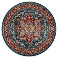 Momeni Lenox LE-01 - 5' Round Area Rug in Blue