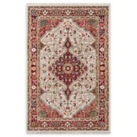 Momeni Lenox LE-02- 2' x 3' Accent Rug in Red