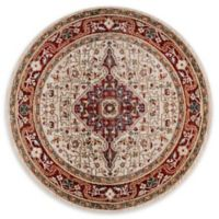 Momeni Lenox LE-02 - 5' Round Area Rug in Red
