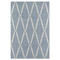 Erin Gates River Hand Woven 5' x 7'6 Area Rug in Denim