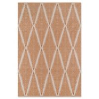 Erin Gates River Hand Woven 2' x 3' Accent Rug in Orange