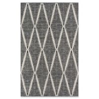 Erin Gates River Hand Woven 2' x 3' Accent Rug in Black