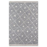 Erin Gates Thompson Appleton Hand Woven 5'6 x 7' Area Rug in Grey