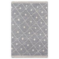 Erin Gates Thompson Appleton Hand Woven 2' x 3' Accent Rug in Grey