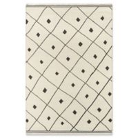 Erin Gates Thompson Appleton Hand Woven 2' x 3' Accent Rug in Ivory
