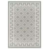 Erin Gates Thompson Brookline Hand Woven 7'6 x 9'6 Area Rug in Grey