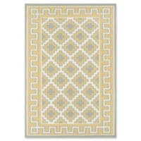 Erin Gates Thompson Brookline Hand Woven 7'6 x 9'6 Area Rug in Gold