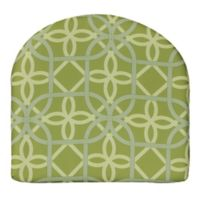 Commonwealth Home Fashions Keene Outdoor Arm Chair Cushion in Green