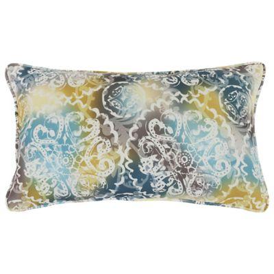 Commonwealth Home Fashions Mosaic Decorative Lumbar Pillow