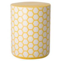 Emissary 18-Inch Beehive Garden Stool in Yellow