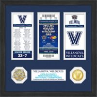 Villanova University 2018 NCAA National Champions Men's Basketball Ticket Frame