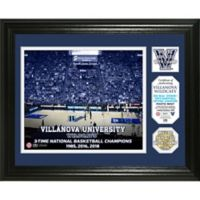 Villanova University 2018 NCAA National Champions Men's Basketball Single Coin Frame