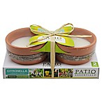 Patio Essentials 2-Pack Citronella Garden Candles