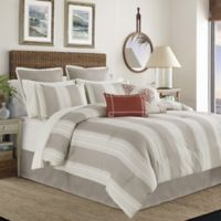 Cleva 12-Piece Queen Comforter Set in Taupe/Ivory