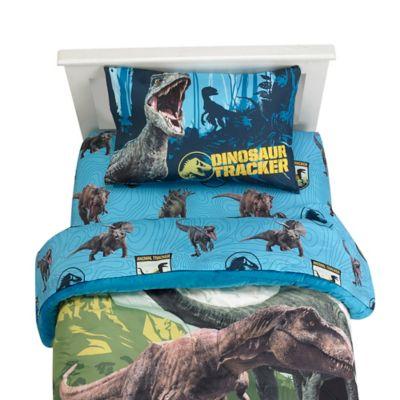 Jurassic World 2 Blue Fusion 4 Piece Full Sheet Set