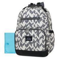 Kelty Super Cooler Chevron Backpack Diaper Bag in Grey