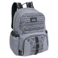 Kelty Daisy Chain Backpack Diaper Bag in Grey