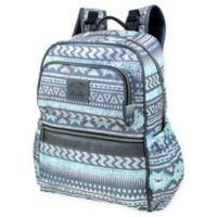 Kelty Multi-Pocket Backpack Diaper Bag in Grey