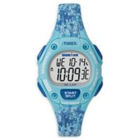 Timex® Ironman® Classic 30 Ladies' 34mm Mid-Size Watch in Blue Resin