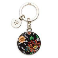 Wedgwood® Wonderlust Oriental Jewel Key Ring in Black